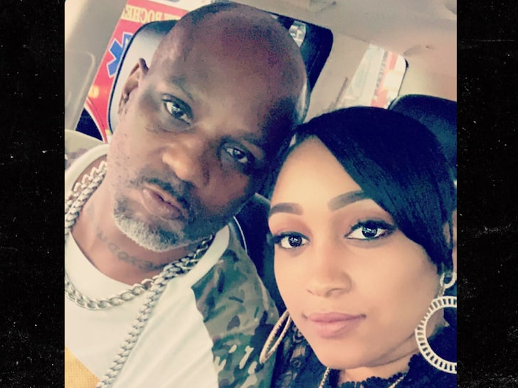 DMX and his Girlfriend Desiree Lindstrom image