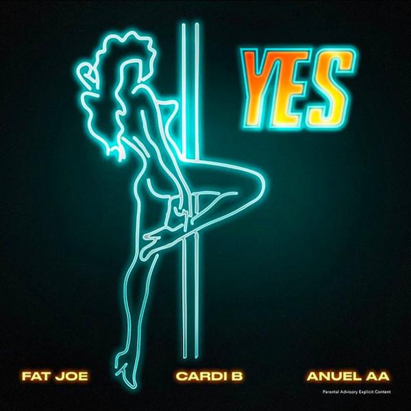 "Fat Joe, Cardi B And Anuel AA Release New ""YES"" Single image"