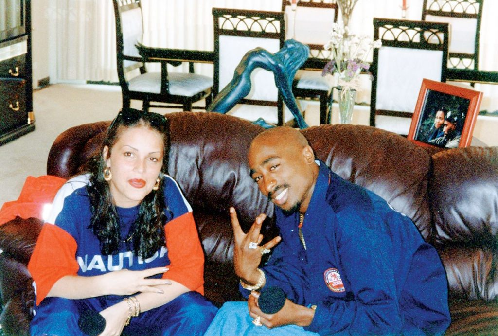 "Angie Martinez On Unreleased 2Pac Interviews: ""I Was Afraid That Someone Would Die"" image"