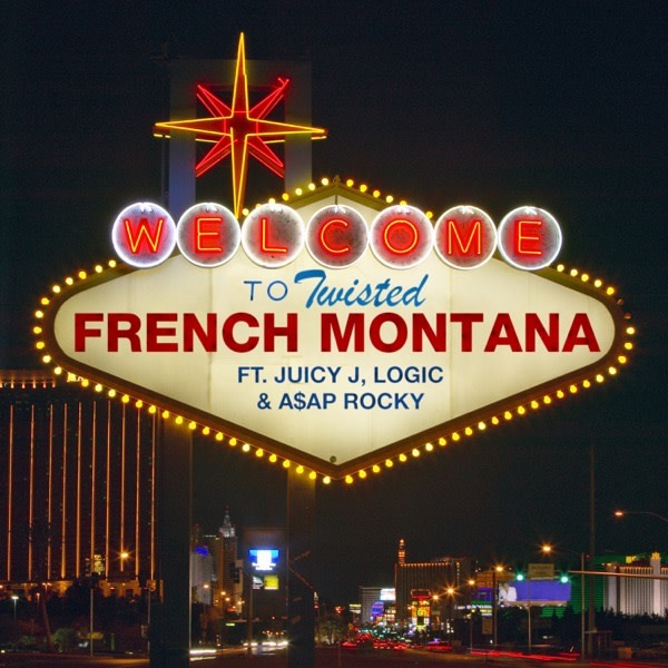 "French Montana Drops ""Twisted"" Single Ft. Juicy J, A$AP Rocky & Logic single image"