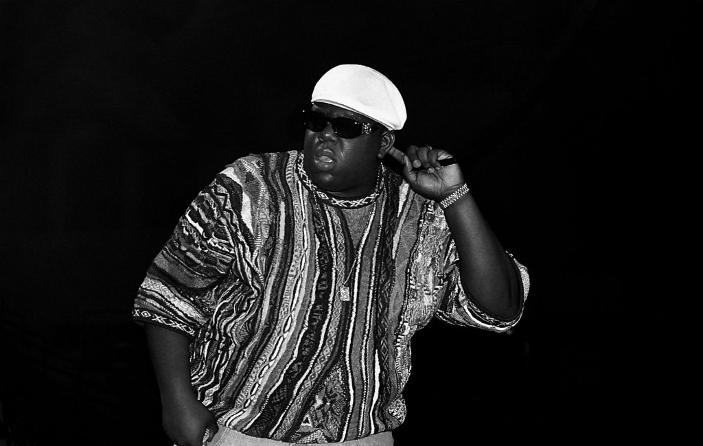 Notorious B.I.G. With Nomination For Rock & Roll Hall Of Fame image