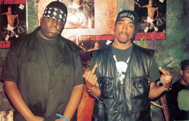 Biggie Smalls and Tupac Shakur image