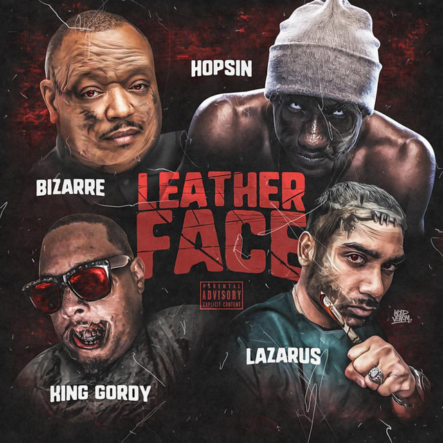 "Bizarre Teams Up With Hopsin, Lazarus & King Gordy For ""Leather Face"" image"